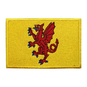Somerset County Flag Patch Iron On Patch Sew On Badge Embroidered Patch