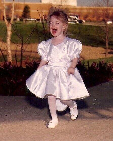 Mini Bride Dress, Child Wedding Dress, Handmade, … - image 2