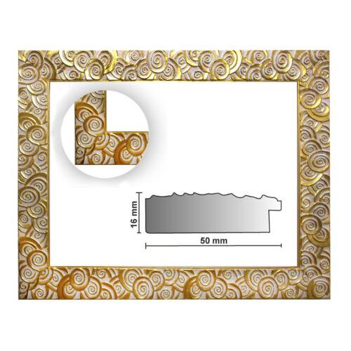 Baroque cadre or finement décorés 585 Oro différentes variantes