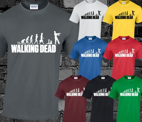 Walking Dead Mens T Shirt The Zombies Top Daryl Rick Michonne Carl Funny Cool