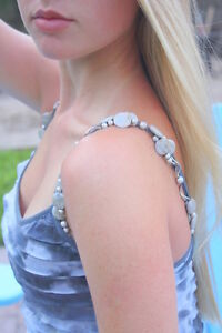 strass in decorativo rilievo Cinghie per con reggiseno UxFwW0qB