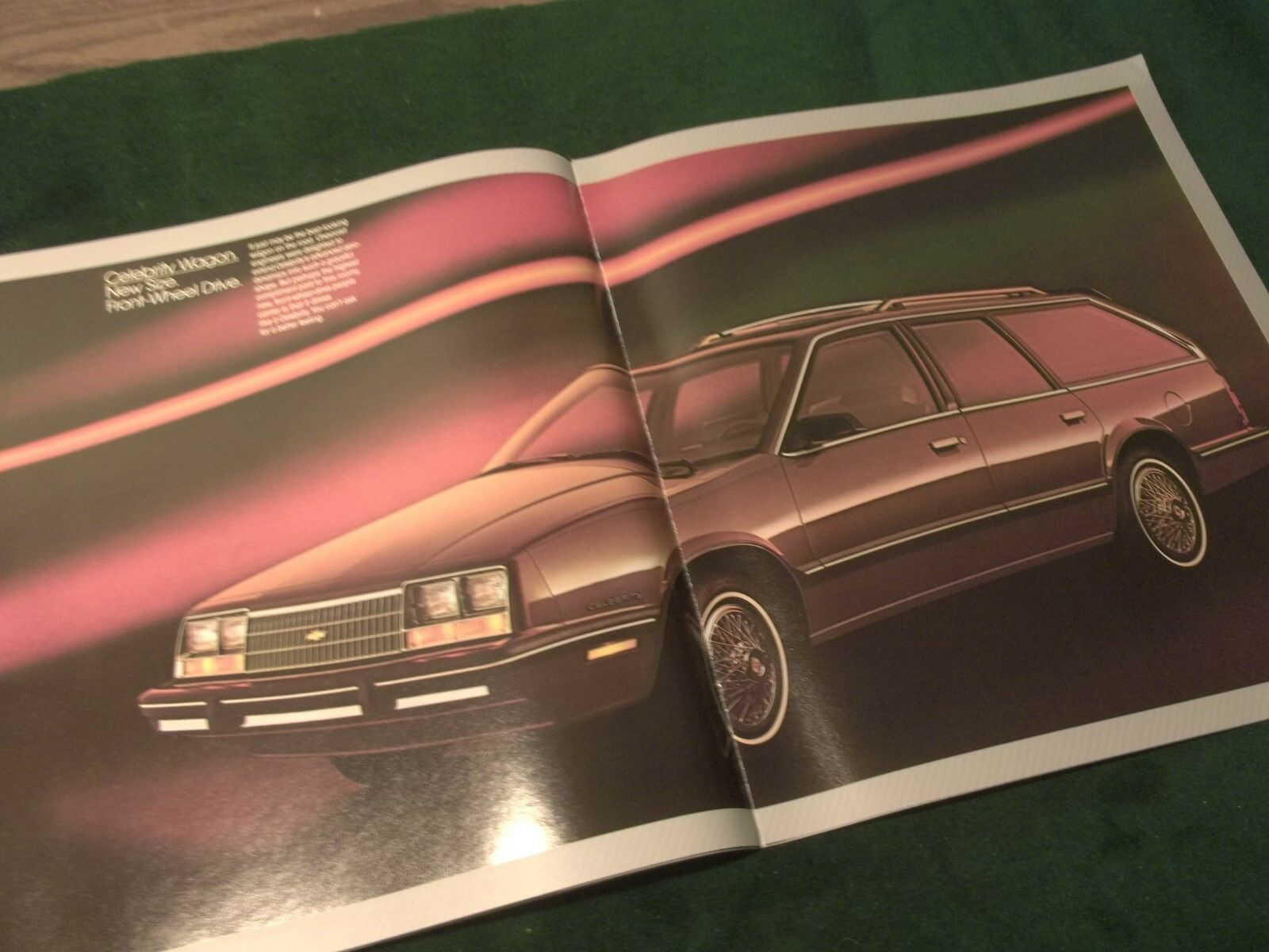 """MINT 1988 CHEVROLET CHEVY CAVALIER SALES BROCHURE 32 PAGES 11/"""" X 9/"""" NEW BOX 732"""