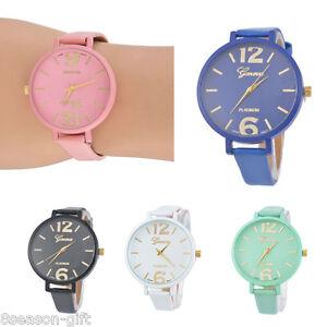 2017-Women-039-s-Girl-Fashion-Leather-Analog-Quartz-Wrist-Watch-Bracelet-Bangle