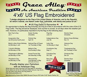 1abe6f29a28 US Flag 4x6  100% American Made. American Flag 4x6 ft. Quality ...