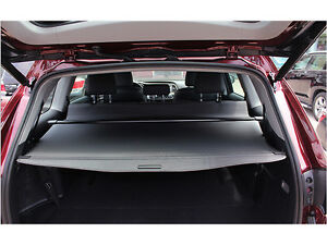 black retractable rear cargo trunk cover for toyota highlander 7 seats 2014 2016 ebay. Black Bedroom Furniture Sets. Home Design Ideas