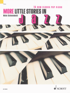 """more Little Stories In Jazz"" Music Book-16 New Pieces For Piano-new On Sale!!"