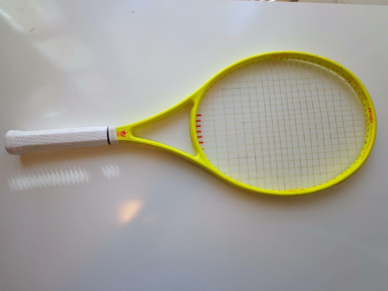 Estusa Jimmy Connors AeroSupra BKS Kinetic 4 3/8 grip Tennis Racquet