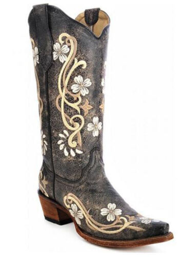 Circle G by Corral Women/'s Multi Color Floral Cowboy Boot L5175