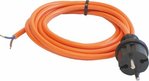 orange as 3 m H07BQ-F 2x1,5 Schwabe 70914 Pur-Baustellen-Anschlussleitung