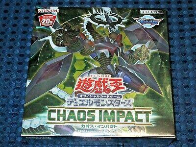 "Korean Ver Yugioh Cards /""Chaos Impact/"" Booster Box"