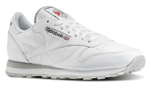 Herren Artikel Tennisschuhe Weiß Klassisch Leder 101 Laufschuhe Reebok Hellgrau pgwaaq