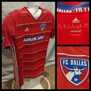 Youth Boys Adidas Climacool MLS FC Dallas Advocare Red Soccer ...