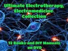 Electrotherapy Zapper Brain Tuner Hulda Clark Bob Beck Medicine 72 Books on DVD