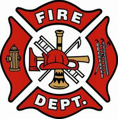 Aufkleber-Folie Witterungsfest Freiwillige Feuerwehr Fire-Department S367 25cm