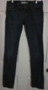 Aeropostale-Women-039-s-Juniors-Medium-Wash-Bayla-Skinny-Jeans-Tag-Size-5-6-Long