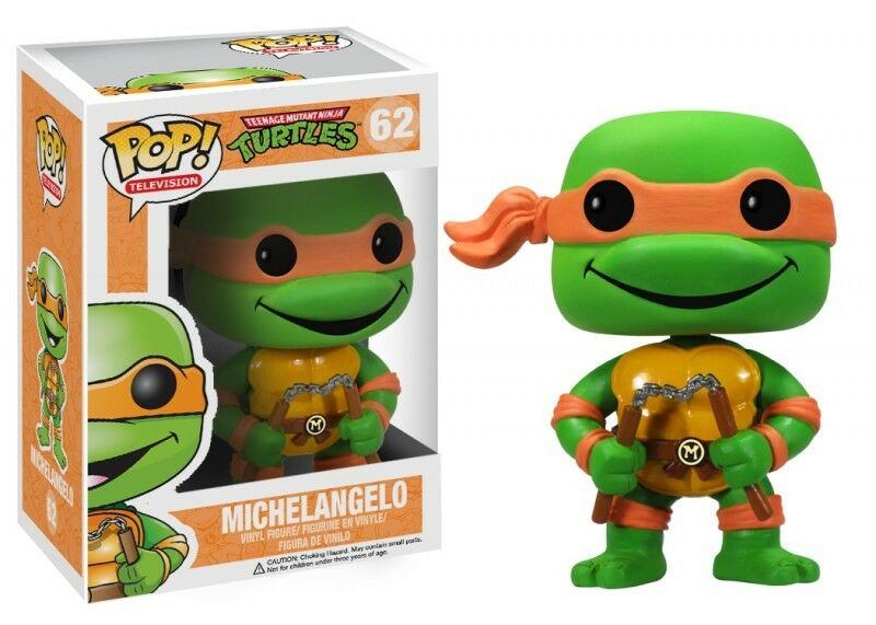 Teenage Mutant Ninja Turtles 62 Michelangelo Funko Pop  Vinyl Figure