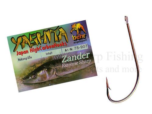 Behr yashita poisson carnassier zander crochet nature hameçons