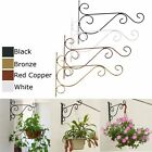 2PCS Plant Hooks Wall Mounted Hanger Bracket Plant Hanging Flower Pot Rack Stand