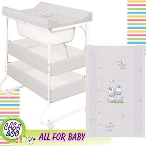 Attirant Image Is Loading Baby Changing Unit Station With Bath Tub Changing