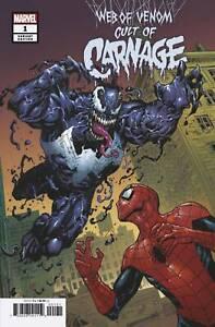 Web-of-Venom-Cult-of-Carnage-1-Cassara-Variant-Marvel-comic-1st-Print-2019-NM