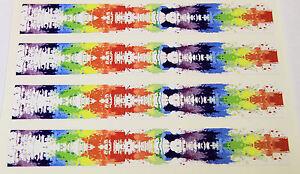 """0944 Vinyle Hd Arrow Wraps-spl-éclaboussures Iv Large 0.75"""" 7"""" Long (12 Pack)-afficher Le Titre D'origine PréVenir Et GuéRir Les Maladies"""