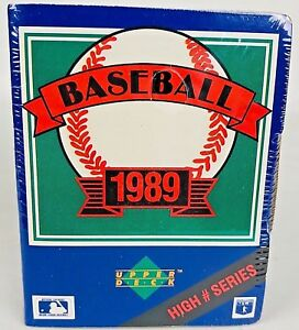 New1989-Upper-Deck-Baseball-Cards-High-Number-Series-Box-Factory-Sealed-701-800