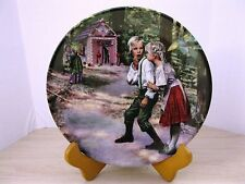 Hansel und Gretel Collector Plate by Gehm 1991 Free Shipping!