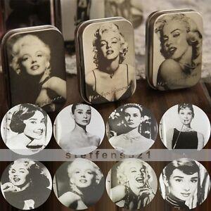 Random-Choose-Monroe-Or-Hepburn-Iron-Tin-Storage-Bag-Jewelry-Gift-Boxes