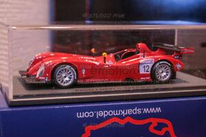 Panoz Lmp07 Motorsports / e-motion N ° 12 24h Du Mans 2001 Etincelle 1:43 Très Rar