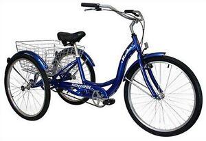 8bceaa05d25 Image is loading SCHWINN-26-Meridian-3-Wheel-Trike-Adult-Comfort-