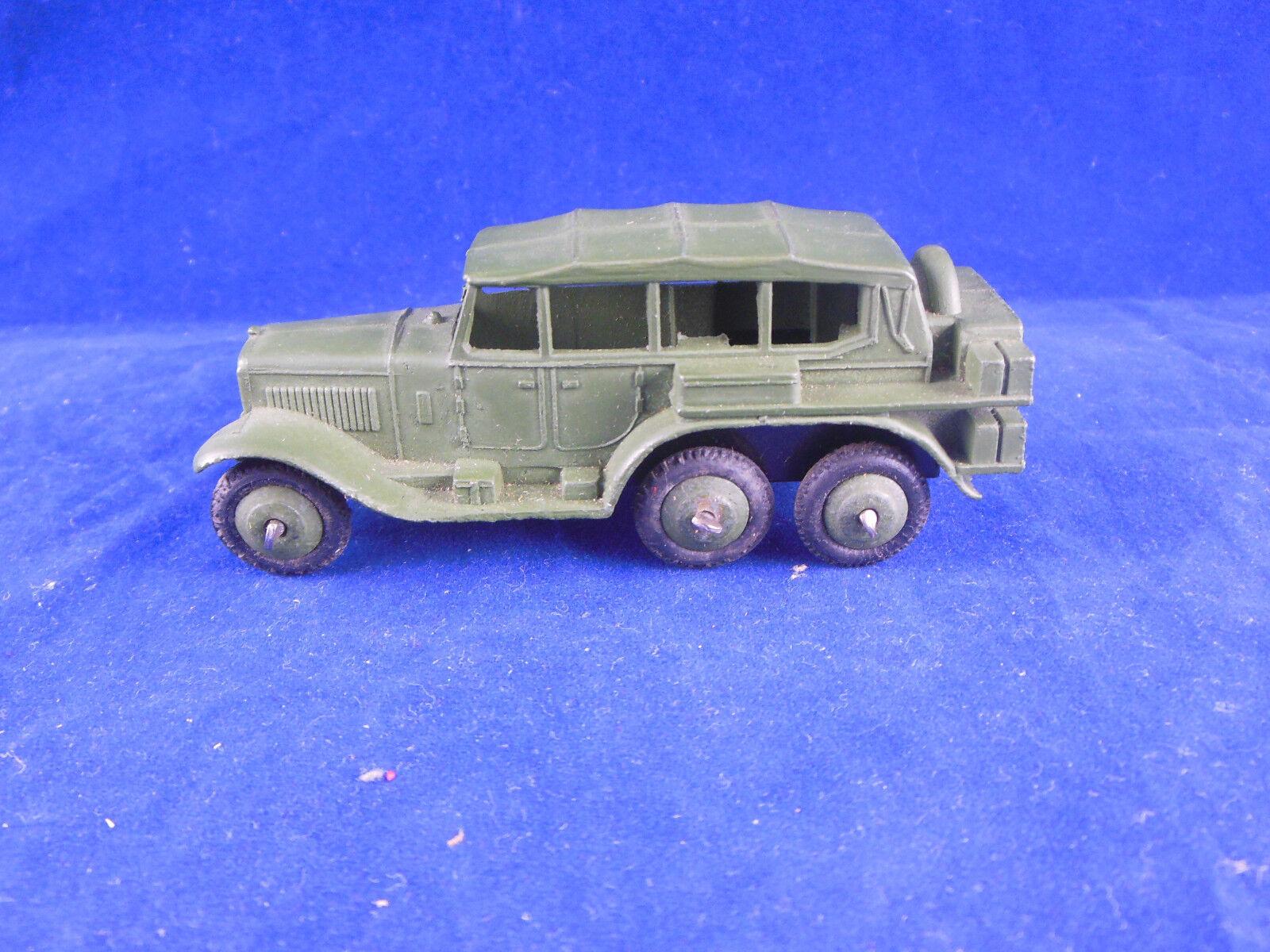 Vintage Dinky Toys 152b coche de reconocimiento militar original de la posguerra Excelente &