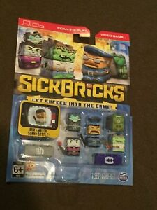Stick-Bricks-Scan-To-Play-Video-Game-Figures-Assorted-Set-NEW-MIP