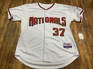 Stephen Strasburg Washington Nationals White MLB Jersey - Majestic - Size 50