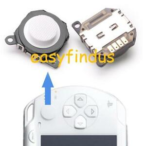 for-PSP-1000-series-Repair-Parts-3d-Analog-Button-thumb-cap-WHITE-new