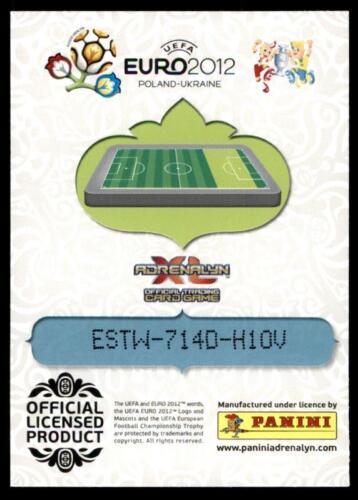 UK Edition//Base Carte PANINI EURO 2012 ADRENALYN XL-Angleterre Darren Bent