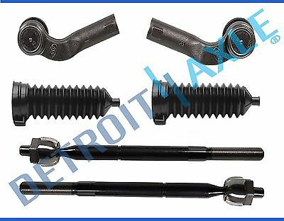 Driver /& Passenger Side Mazda 3 5 Steering Inner Outer Tie Rod End Link Set