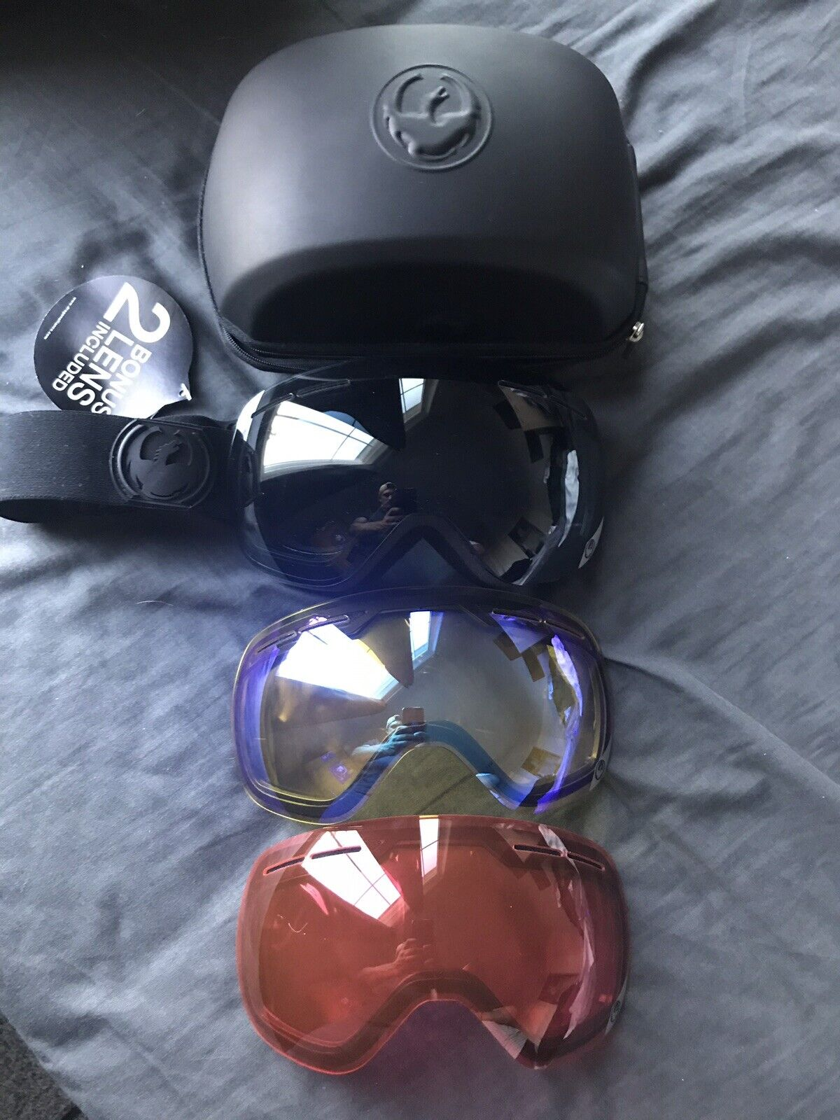 Dragon X2 Knightrider Snowboard Goggles