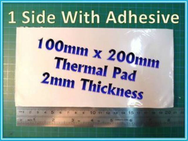 Adhesive Thermal Pad 100x200 2mm thick Xbox360 GPU CPU