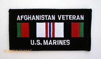 AFGHANISTAN VETERAN PATCH US MARINES PIN UP SERVICE RIBBON SEMPER FI GIFT OEF