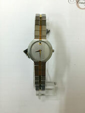 Orologio movado gold donna museum SWISS ORO WATCH gold 8590821 acciaio steel