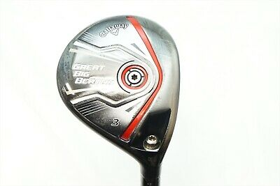 Callaway Great Big Bertha 2015 15 Degree 3 Wood Regular Flex Hzrdus Graph 832390  | eBay