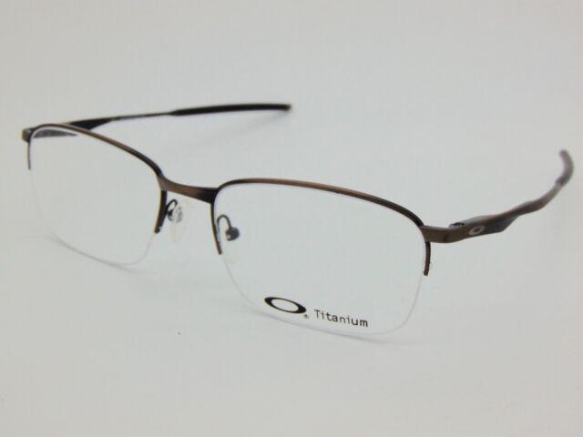 345c36ed39c NEW OAKLEY WINGFOLD 0.5 OX5101-0455 Satin Titanium Toast 55mm Rx Eyeglasses