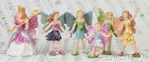 "2"" Fairy Set - Set of 6 - A Complete Set of Detailed Fairies!"