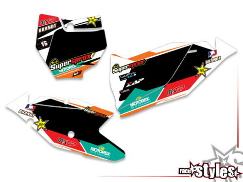 CAIROL MX DECORO Decalcomanie Graphics T KTM SX SXF EXC 85 125 250 300 350 450 2016