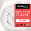 15-Tog-Duvet-Snuggle-Ultra-Warm-Winter-Duvet-Luxury-Single-Double-King-Size thumbnail 1