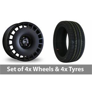 4-x-18-034-Bola-B12-Matt-Black-Alloy-Wheel-Rims-and-Tyres-225-40-18