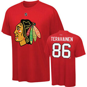 0561b5e90 Image is loading Youth-Chicago-Blackhawks-86-Teuvo-Teravainen-Name-and-