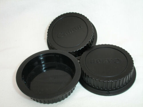 EOS mount EF lot of 3 CANON Rear lens CAP Three caps Genuine OEM Japan