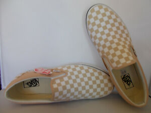 VANS-Classic-Slip-On-Frappe-White-Checkerboard-Shoes-Men-039-s-Sz-13-New-In-Box