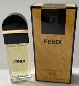 Fendi-0-85oz-Women-039-s-Eau-de-Toilette-Spray-By-Fendi-Hard-to-Find-New-In-Box